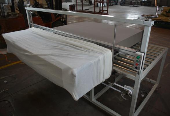 海綿機械在工廠